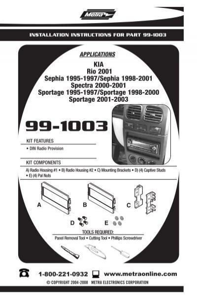 99 1003 Installer