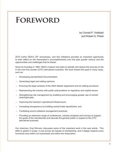 Foreword By Conrad P Vol
