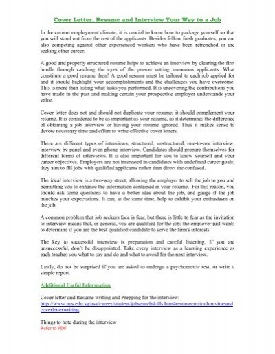 Cover Letter To Employer from www.yumpu.com