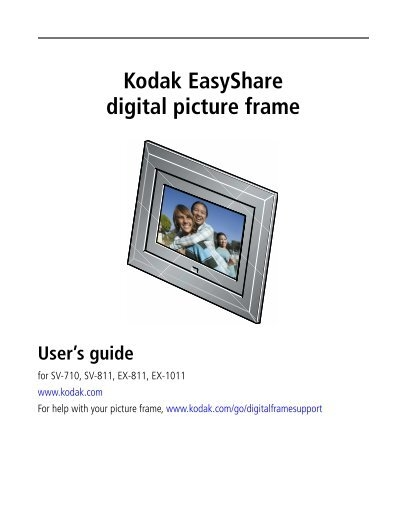 Kodak EasyShare digital picture frame - TigerDirect.com