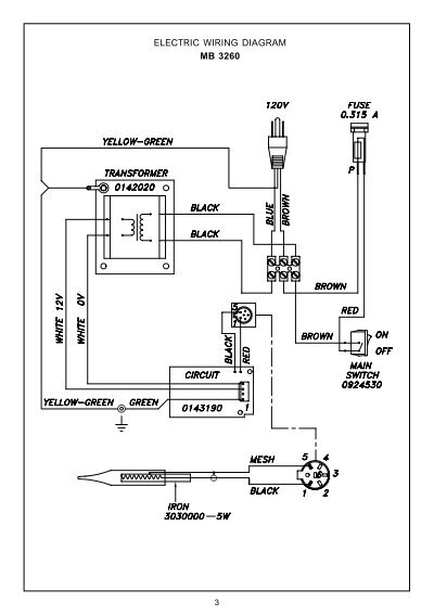 Electric Wiring Diagram M