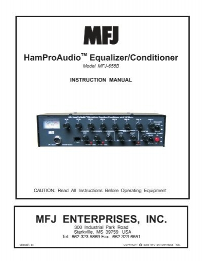 Mfj Enterprises  Inc