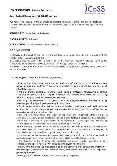 SURGICAL TECHNICIAN JOB DESCRIPTION Job Summary Fastaff – Surgical Tech Job Description