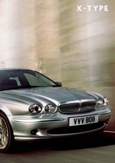 2006 Jaguar X Type Brochure Jeff Young Design
