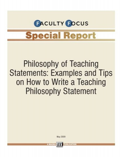 statement of educational goals and philosophy essay A personal philosophy statement is an essay a teacher should reflect on his objectives and goals personal philosophy of education personal philosophy statement.