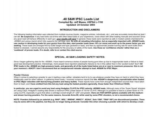 40 s w ipsc loading data 3gunrules com rh yumpu com Logo TV Channel Guide DirecTV Channel Lineup