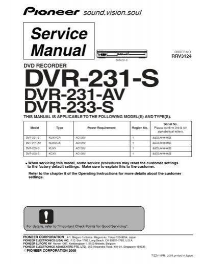 dvr 231 av dvr 233 s rh yumpu com H 264 DVR System Manuals IC Realtime DVR
