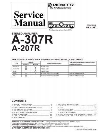 d elektroda rh yumpu com Pioneer Spec 2 Parts Pioneer Spec 1