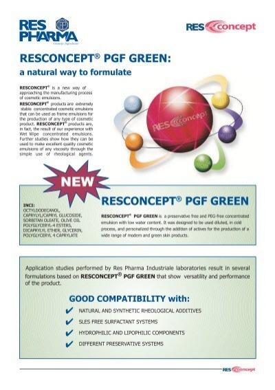 resconcept pgf green kinetik rh yumpu com
