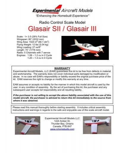 Glasair Manual
