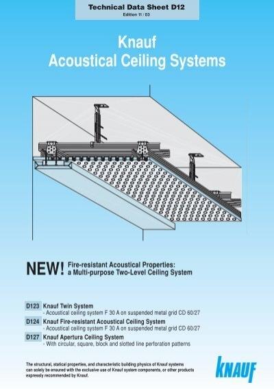 knauf acoustical ceiling systems. Black Bedroom Furniture Sets. Home Design Ideas