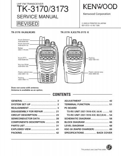 kenwood tk 2170 3170 ko4bb s home page rh yumpu com Kenwood Tk 2180 Radio kenwood tk-7180 user manual