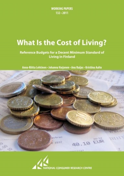 cost of living essay The cost of living in india is also notoriously low, even in such grand cities as  delhi, mumbai and bangalore of course, many come for the rich.