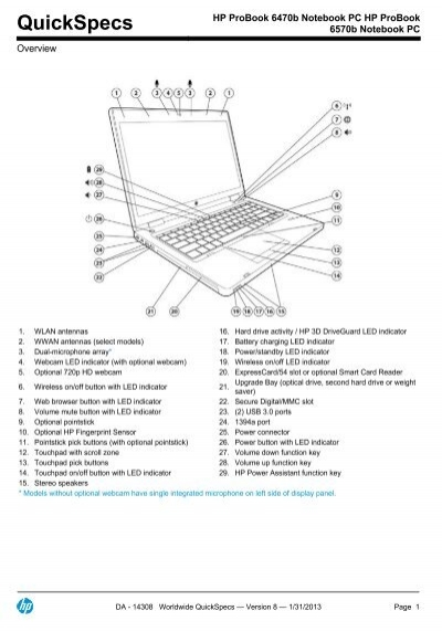 Drivers for hp probook 6570b