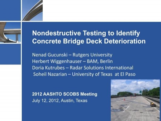 handbook on nondestructive testing of concrete pdf
