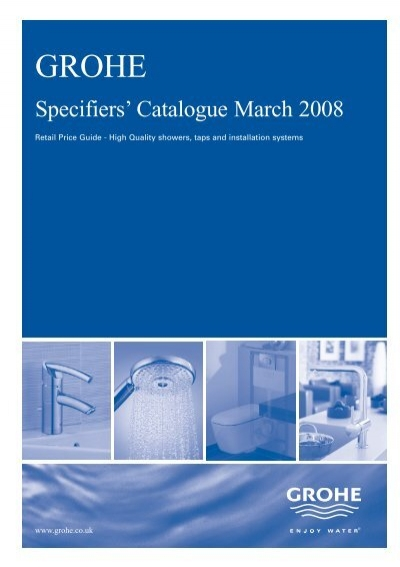 Specifiers\' Catalogue March 2008 - Grohe