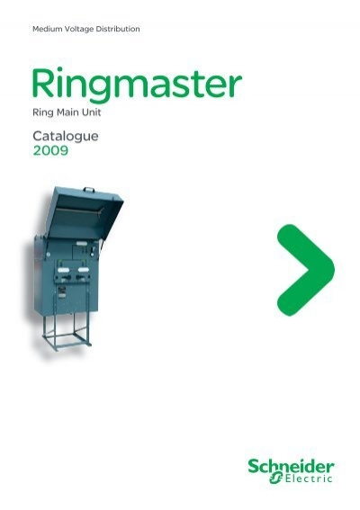 catalogue ringmaster part 1 schneider electric. Black Bedroom Furniture Sets. Home Design Ideas