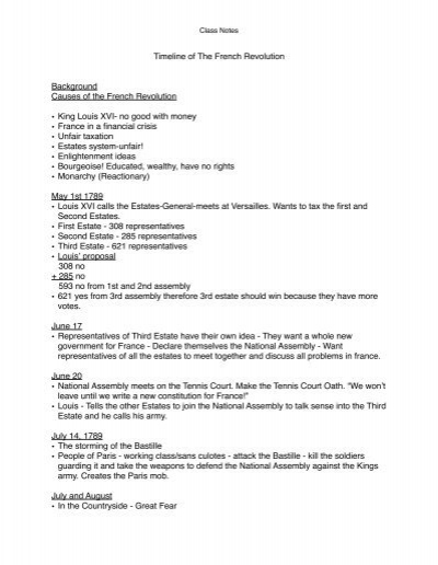 causes of the french revolution click to view fullscreen 9th
