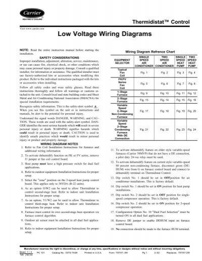 Low Voltage Wiring Diagrams