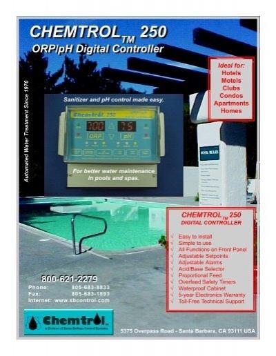 chemtrol 250 chemtrol 250 lincoln aquatics rh yumpu com Chemtrol 250 How Much chemtrol 250 operating manual