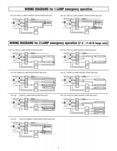 6 lamp t5ho ballast wiring diagram t5 ballast wiring