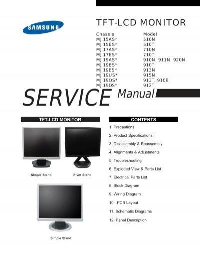 Samsung mj15as* 510n service manual pdf download.