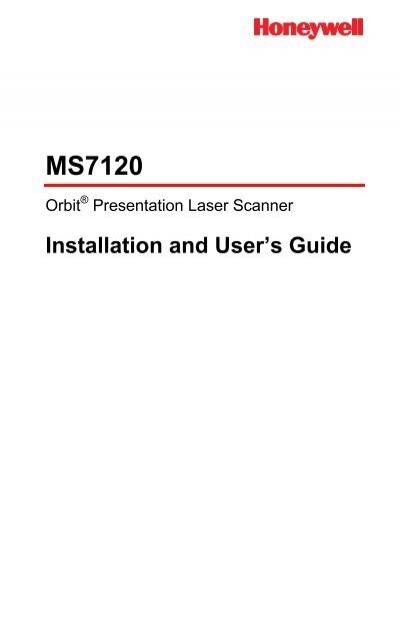 Barcode Laserscanner Metrologic Orbit MS-7120 mit Netzteil
