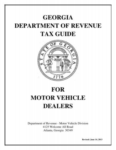 Kansas department of revenue motor vehicle division for Georgia department of revenue motor vehicle division