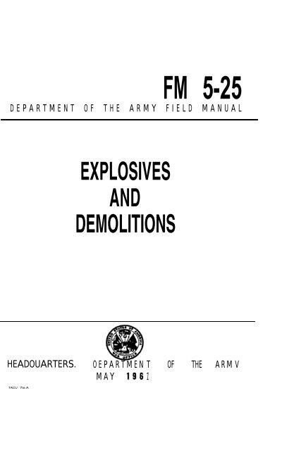 foto de FM-5-25-Explosives-and-Demolitions-1967