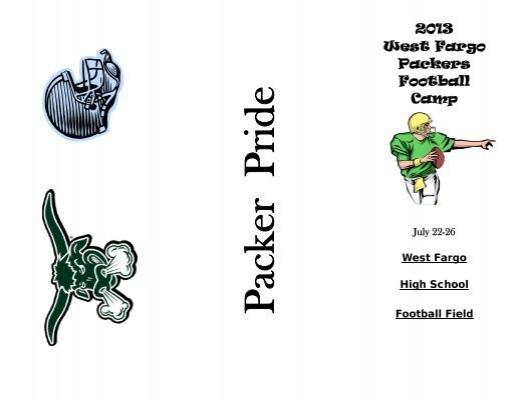 Packer Football Camp