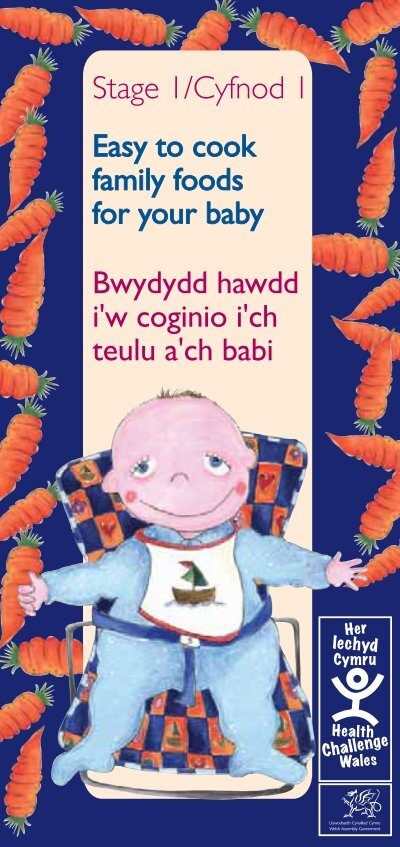 Easy To Cook Family Foods For Your Baby Bwydydd Hawdd Iw Coginio I