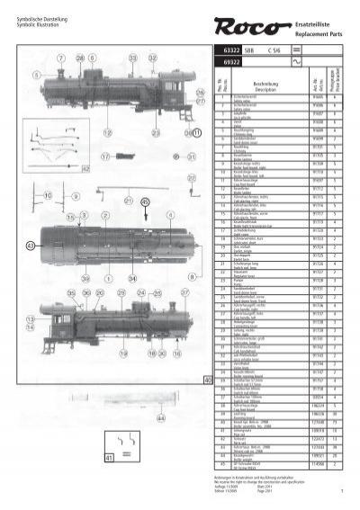 - Radsatz* WLE 22 62832 Ersatzteil Roco HO Diesellok ER 20