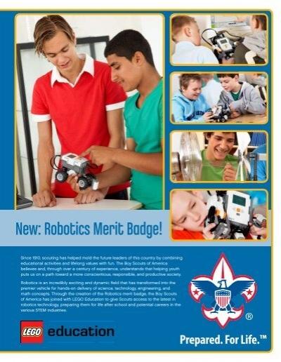 New Robotics Merit Badge Lego Education