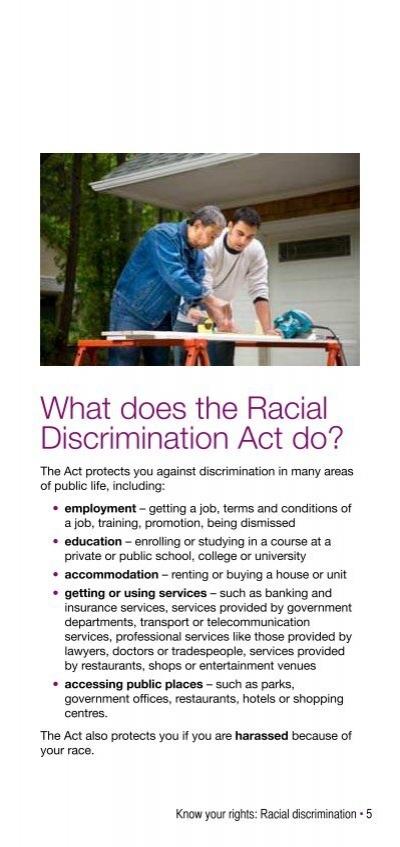 racial discriminatory views of indigenous australians Foundation calls for reinstatement of racial discrimination for reinstatement of racial discrimination by the australian indigenous doctors.