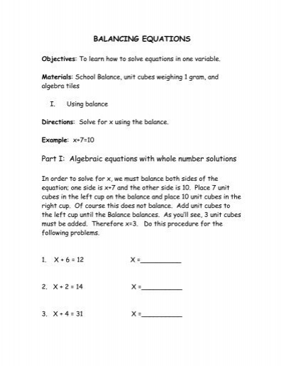 Printables Literal Equations Worksheet balance equations worksheet ks2 intrepidpath balancing year 7 chemical