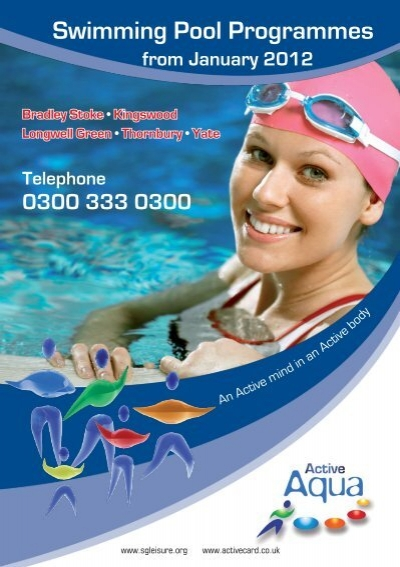 Swimming pool programmes active centre - Longwell green swimming pool times ...