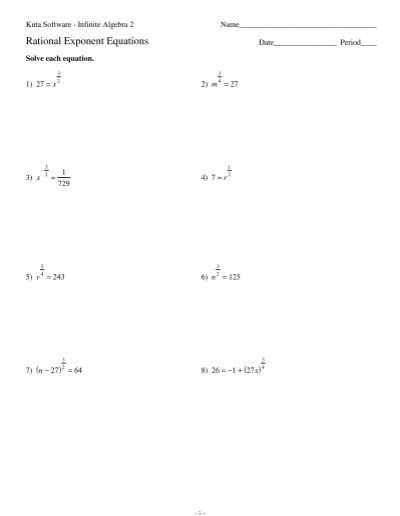 Printables Radicals And Rational Exponents Worksheet collection of radical exponents worksheet bloggakuten math worksheets fractional exponents