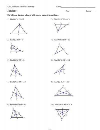Kuta Infinite Geometry Similar Triangles S With Work