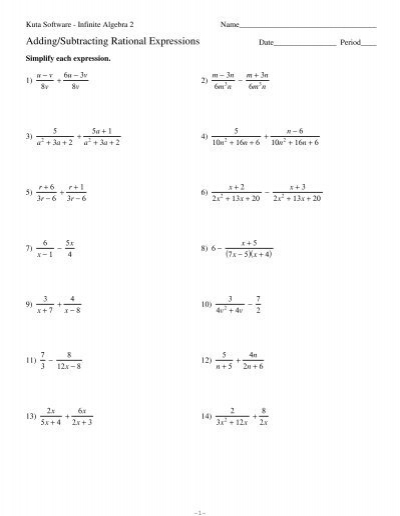 math worksheet : multiplying positive and negative numbers worksheet kuta  worksheets : Adding And Subtracting Rational Numbers Worksheet