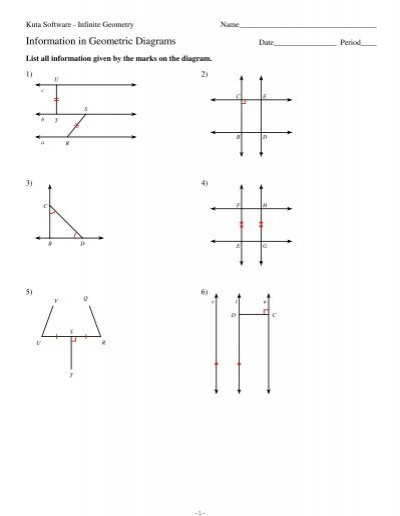 2-information In Geometric Diagrams