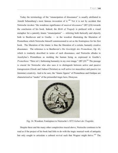 nietzsche and the birth of tragedy daniels pdf