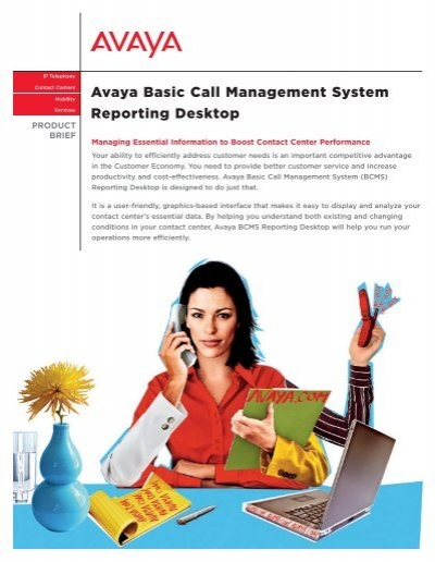Avaya Basic Call Management System Reporting Desktop