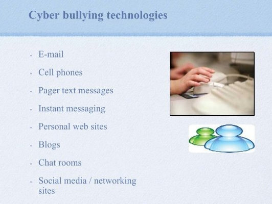 cyber bullying chat rooms no registration