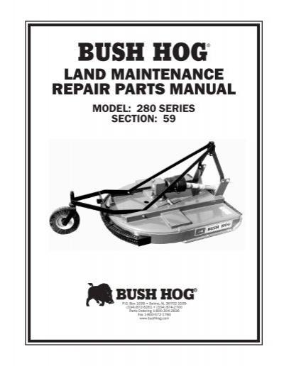 Bush Hog 174 Opico