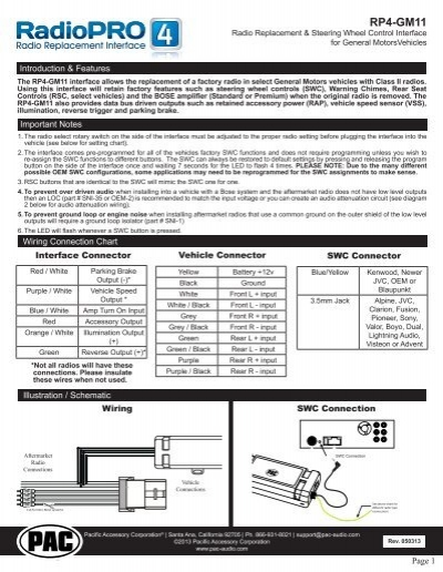 25102817 please click here for the rp4 gm11 instruction manual pac audio rp4 gm11 wiring diagram at gsmx.co