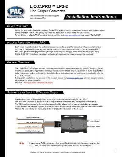 Index Of Misc Pacaudio Manual Guide