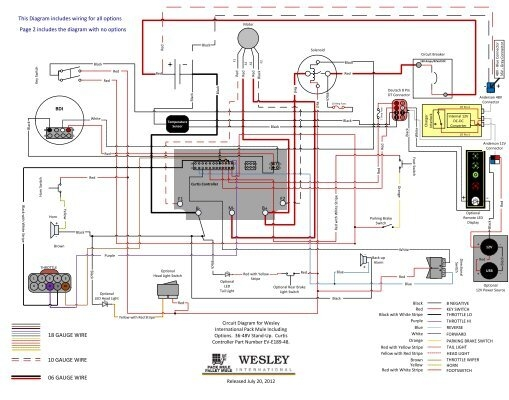 type e f combination motor controller wiring diagrams e catalog wiring diagram for 36 48v stand up models curtis controller