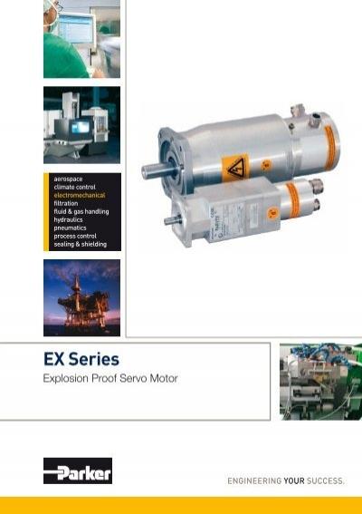 Explosion Proof Servo Motor Ex Series