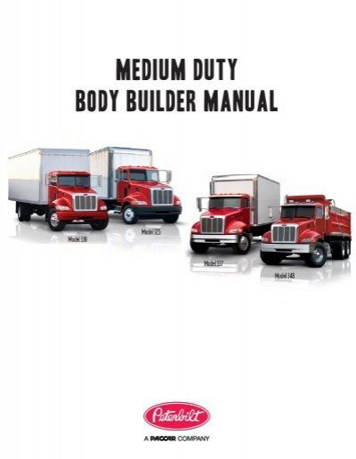 Medium duty body builder manual peterbilt motors company publicscrutiny