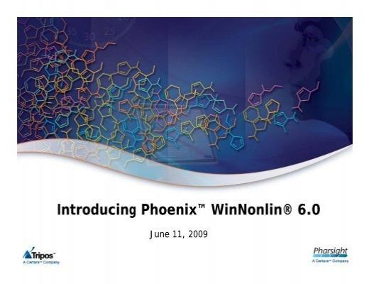 Phoenix Winnonlin Free Download
